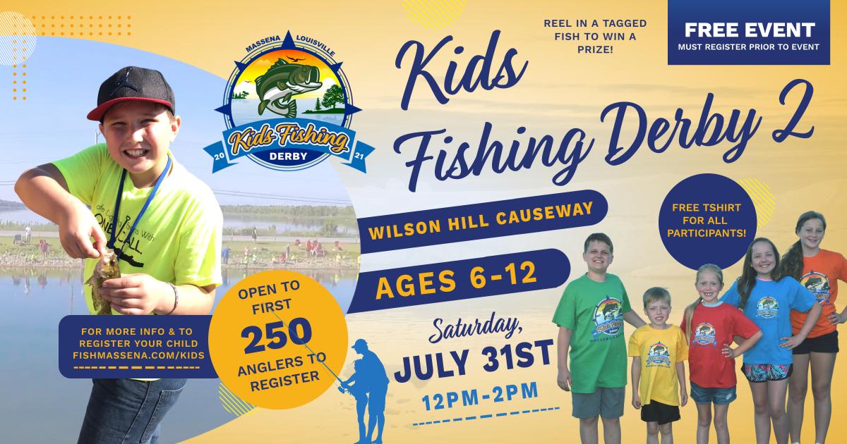 2021 Kids Fishing Derby - Wilson Hill Causeway