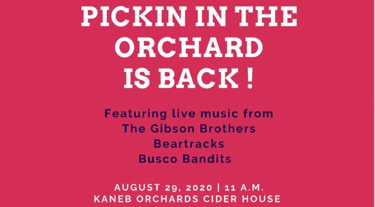 Pickin In The Orchard At Kaneb